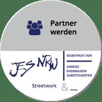 Partner-Button zum Streetwork-Projekt von JES NRW